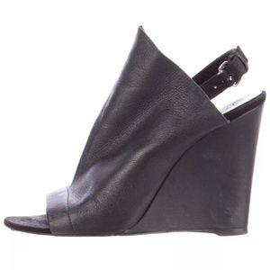 Balenciaga Black Glove Sandals Wedges